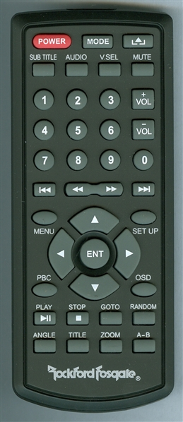 ROCKFORD FOSGATE 100177 Genuine OEM Original Remote
