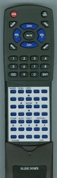 ROSEN 8104-0102-00 Custom Built Redi Remote