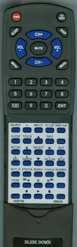 SAMSUNG AA59-00784B Custom Built Redi Remote