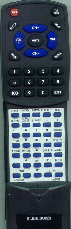 SAMSUNG AC59-10340F Custom Built Redi Remote