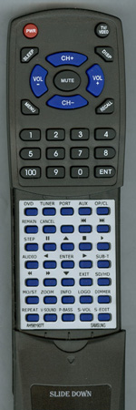 SAMSUNG AH59-01907T Custom Built Redi Remote