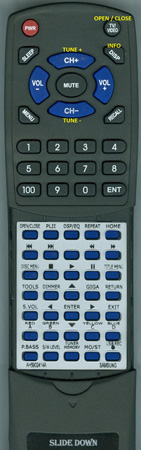 SAMSUNG AH59-02414A AH5902414A Custom Built Replacement Redi Remote