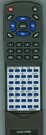 SAMSUNG AH59-02630A Custom Built Replacement Redi Remote