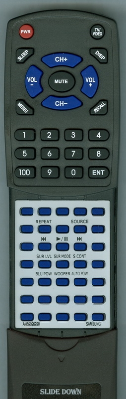 SAMSUNG AH59-02692H Custom Built Redi Remote