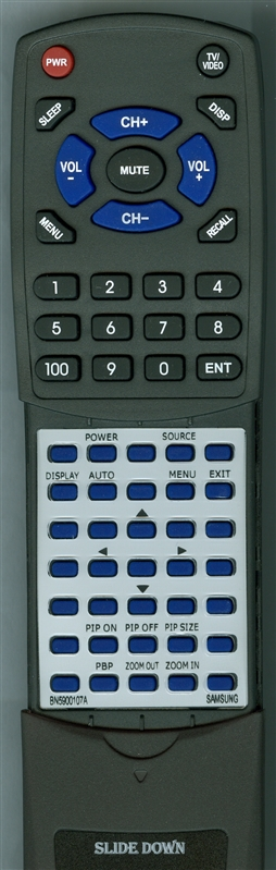 SAMSUNG BN59-00107A Custom Built Replacement Redi Remote