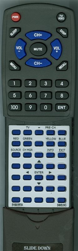 SAMSUNG BN59-00553A 00553 Custom Built Replacement Redi Remote