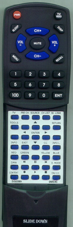SAMSUNG BN59-00696A Custom Built Redi Remote