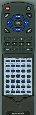 SAMSUNG BN59-00855A Custom Built Redi Remote