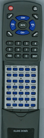 SAMSUNG BN59-00996A Custom Built Redi Remote