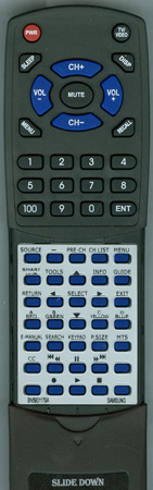 SAMSUNG BN59-01179A Custom Built Replacement Redi Remote