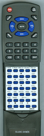 SAMSUNG BP59-00048A Custom Built Redi Remote