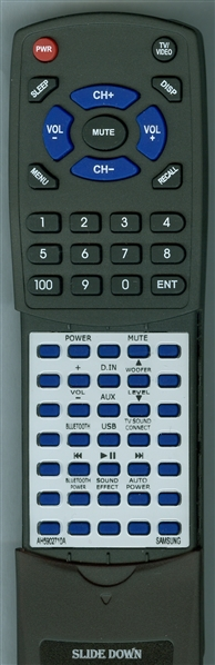 SAMSUNG AH59-02710A Custom Built Replacement Redi Remote