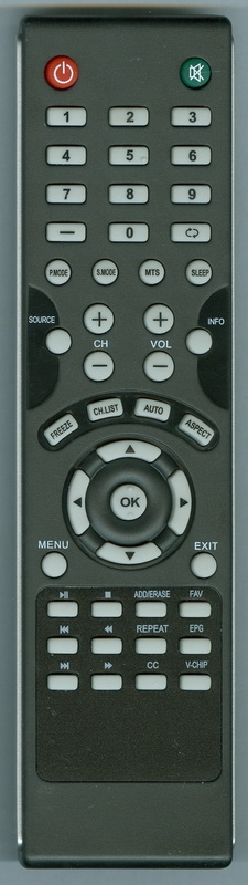 SANSUI 07684504703B0 Genuine OEM original Remote