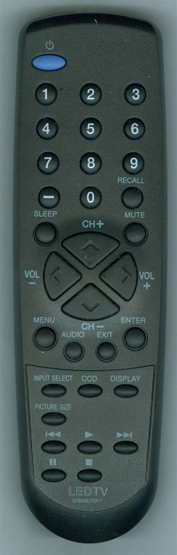 SANSUI 076K0UT011 Genuine  OEM original Remote
