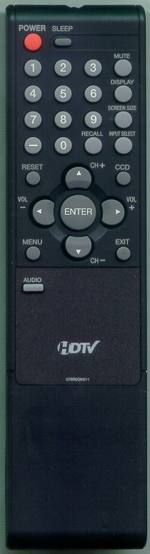 SANSUI 076R0QK011 Genuine OEM original Remote