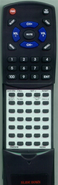 SANSUI 076N0DW180 Custom Built Replacement Redi Remote