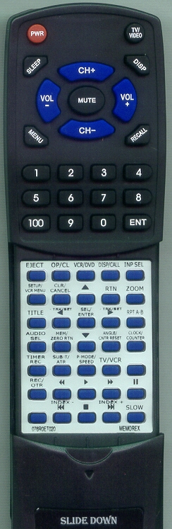 SANSUI 076R0ET020 Custom Built  Redi Remote