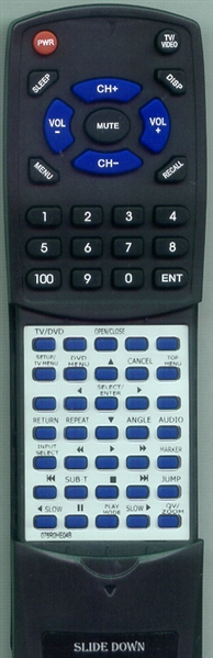 SANSUI 076R0HE04B Custom Built Redi Remote
