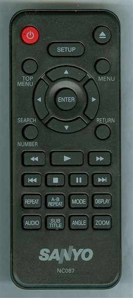 SANYO NC087UH NC087 Genuine OEM Original Remote
