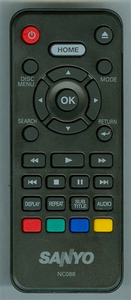 SANYO NC088UH NC088 Genuine OEM Original Remote
