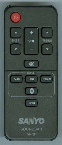 SANYO NC300UH NC300 Genuine OEM Original Remote