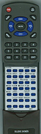 SANYO 645 000 2076 IR-9413 Custom Built Redi Remote