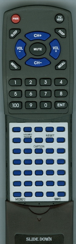 SANYO 645 026 8212 FXPA Custom Built Redi Remote