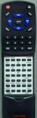 SANYO 945 086 4965 CXVM Custom Built Redi Remote