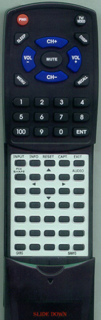 SANYO GXBG Custom Built Redi Remote