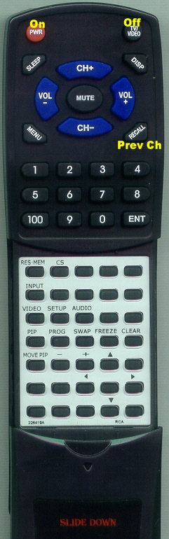 SEARS 226419 CRK74R1 Custom Built Replacement Redi Remote