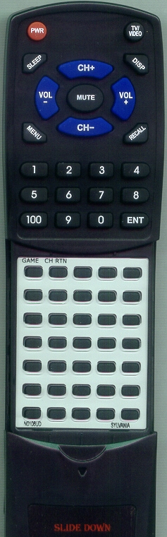 SEARS N0121UD Custom Built Redi Remote
