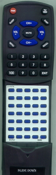 SEARS N0127UD  Custom Built   Redi Remote