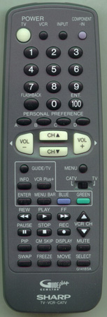 SHARP RRMCG1418CESA G1418SA Genuine OEM Original Remote