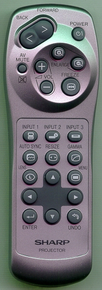SHARP RRMCGA013WJSA GA013WJ Genuine OEM Original Remote