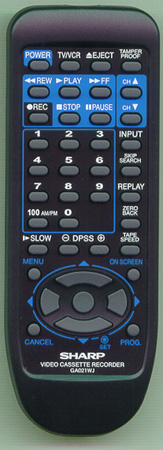 SHARP RRMCGA021WJSA GA021WJ Genuine  OEM original Remote