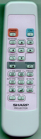 SHARP RRMCGA187WJSA Genuine OEM Original Remote