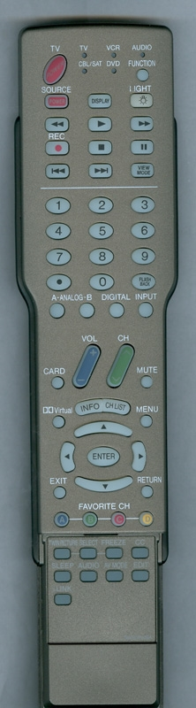 SHARP RRMCGA242WJSA GA242WJSA Genuine OEM Original Remote