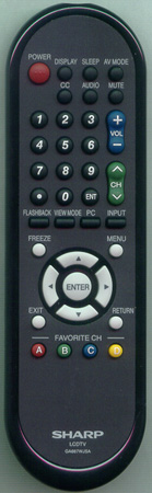 SHARP RRMCGA667WJSA GA667WJSA Genuine OEM Original Remote