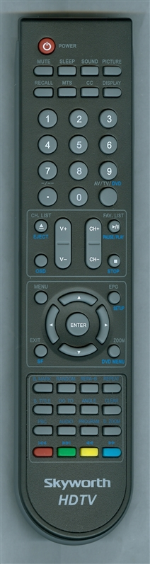 SKYWORTH SLC1569A Genuine OEM Original Remote