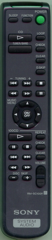 SONY 1-473-517-11 RMSC100P Genuine OEM Original Remote