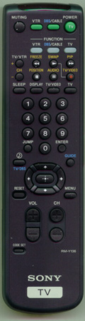 SONY 1-473-749-22 RMY136 Genuine  OEM Original Remote