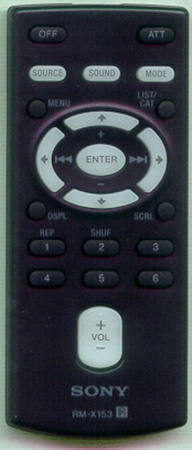 SONY 1-479-077-31 RMX153 Genuine  OEM original Remote
