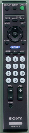 SONY 1-480-262-11 RMYD018 Genuine  OEM original Remote