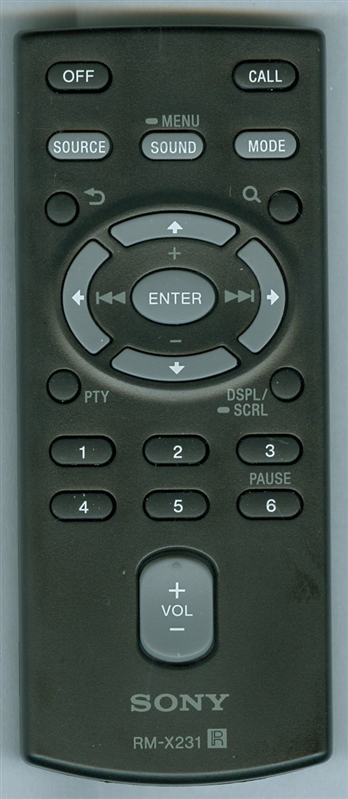SONY 1-489-810-42 RM-X231 Genuine OEM Original Remote