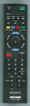 SONY 1-490-009-11 RMYD075 Genuine OEM Original Remote