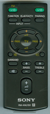 SONY 1-492-711-11 RM-ANU191 Genuine  OEM Original Remote