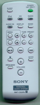 SONY A-1363-104-A RMTCS2iPA Genuine OEM original Remote