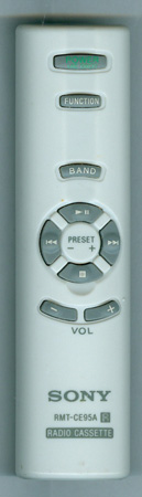 SONY A-3172-077-A RMTCE95A - GREY Genuine  OEM Original Remote
