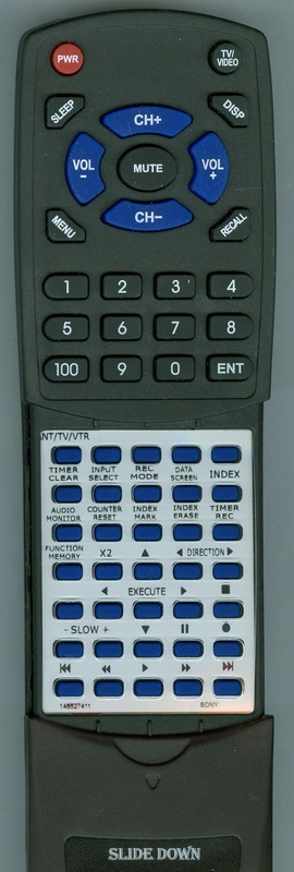 SONY 1-465-274-11 RMT-V555A Custom Built Redi Remote