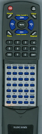 SONY 1-465-727-11 RMD870 Custom Built Redi Remote